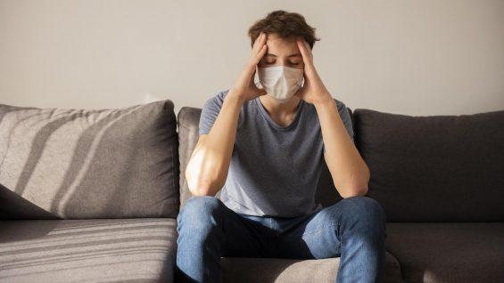 quarantined-boy-having-a-headache